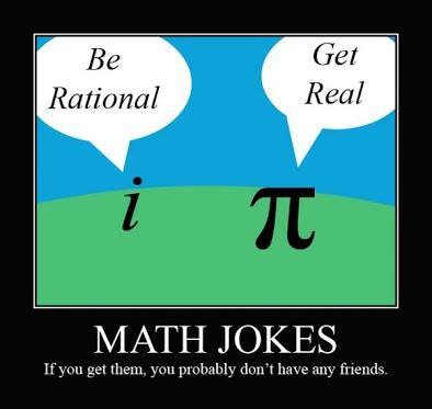 mauvais en math humour
